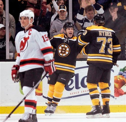 Devils Bruins Hockey