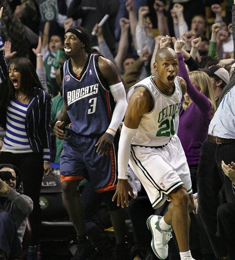 Bobcats Celtics Basketball